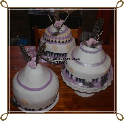South African Traditional Wedding Cakes Pictures